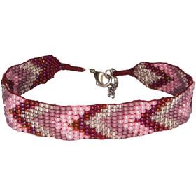 Sherpa Mayalu Chevron Armband Dames, anaar